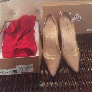 CL Nude Heels